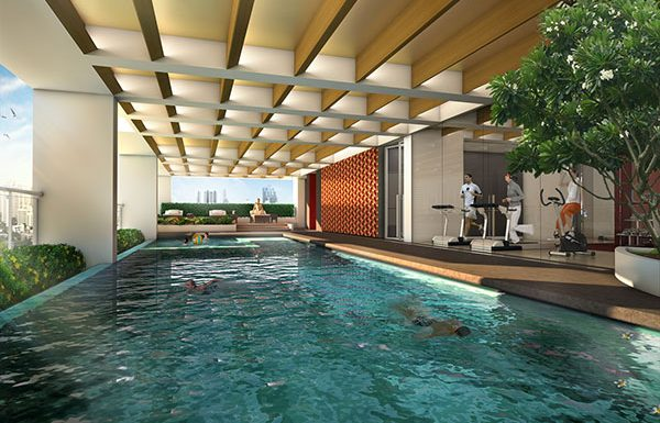 Siamese-Surawong-Bangkok-condo-for-sale-swimming-pool